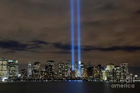 9 11 Memorial Lights The Tribute In Light Memorial Photograph By Stocktrek Images
