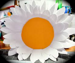 paper plate flower the crafty crazy