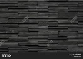 stone wall texture black bricks slate texture image u0026 photo bigstock