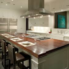 gourmet kitchen island fabulous gourmet kitchen features a ceiling mount vent