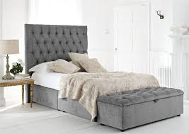 Gray Bed Set Bedroom Comfortable Soft Gray Bed Set With Pattern High