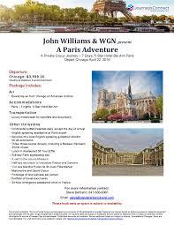 john williams u0026 wgn u2013 a paris adventure 2016 stevebertrandtravel