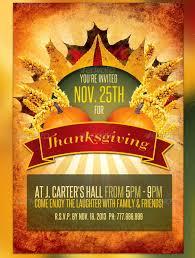20 best psd thanksgiving flyer templates print idesignow