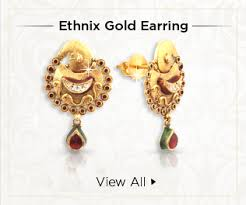 s gold earrings ethnix handcrafted designer jewelry online malabar gold