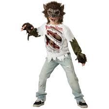 Halloween Costumes Kids Scary Boys Werewolf Kids Scary Wolf Halloween Costume Ebay