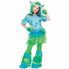 Monster Halloween Costume Child Monster Girls Halloween Costume Walmart