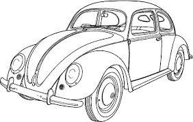 vintage car coloring pages coloring