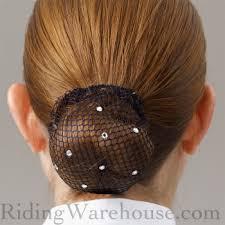 bun holder showquest bling black show hair bun holder net