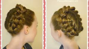 26 lazy hairstyling hacks easy halo crown braid tutorial hairstyle hacks youtube