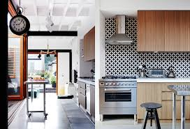sydney modern industrial tile kitchen dining room for the home