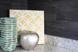 Backsplash Wallpaper That Looks Like Tile by Our 40 Backsplash Using Vinyl Flooring Re Fabbed