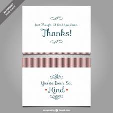 thank you card template for word thank you very much note card