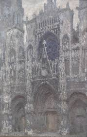 meteo sur mon bureau file claude monet the cathedral in rouen the portal grey weather