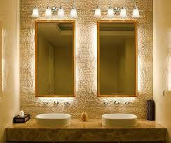 bathroom mirror with lights behind nickel finish bathroom mirrors bathroom mirrors ideas