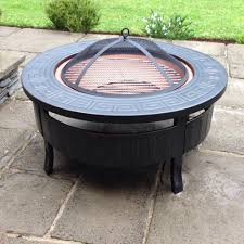Garden Firepit Metal Ring Garden Pit Pit Glass Durable Yet