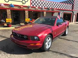 2007 ford mustang deluxe 2007 ford mustang v6 deluxe 2dr convertible in poteau ok watson