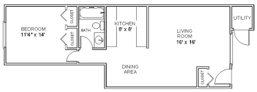Two Bedroom Apartments Floor Plans Apartment Floor Plans One Bedroom Apartments In Clifton Park Ny