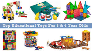 top educational toys for 3 and 4 year olds to learn and grow