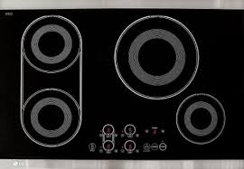 Electromagnetic Cooktop Lg Lce30845 30 Inch Induction Cooktop With 4 Cooking Elements