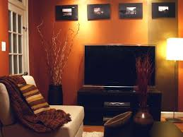 Red Color Living Room Decor Best 25 Orange Walls Ideas On Pinterest Orange Wall Mirrors