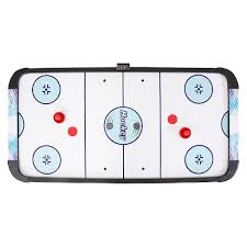 target air hockey table hathaway face off air hockey table with electronic scoring 5 target