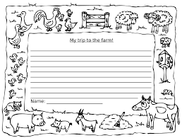 printable animal lined paper back in your classroom stepney city farm back in your classroom