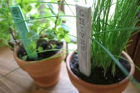 diy stamped clay garden markers rubberstamps com blog