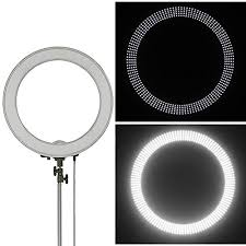 ring light effect app amazon com neewer camera photo video 18 inches 48 centimeters