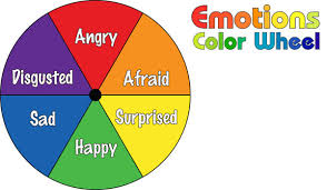 color feelings chart do2learn educational resources for special needs