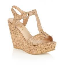 buy ravel ladies u0027 westport wedge sandals online in ecru snake