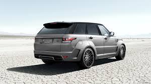range rover sport modified 2015 hamann range rover sport caricos com