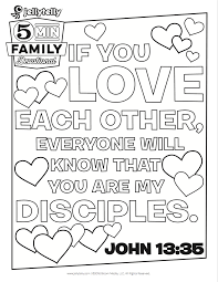 teach your kids what it means to love others with this free john
