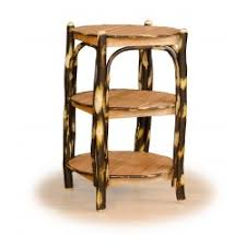 Rustic Round End Table Coffee U0026 End Tables Furniture Barn Usa