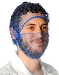 beard nets sales of beard nets soar so hipsters can keep preparing food