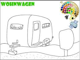 camping coloring pages kids camping coloring pages