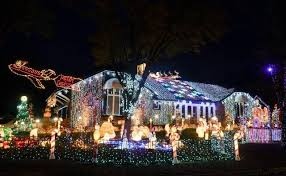 2016 two christmas light viewing routes in wichita the wichita