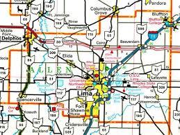 map of allen allen county ohio map ohiobiz