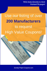 best 25 manufacturer coupons ideas on pinterest e coupons