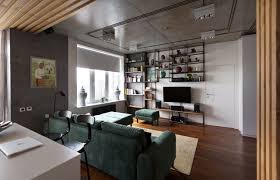 Industrial Apartment Modern Kiev Apartment With Industrial Details Design Milk