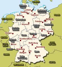 map of deutschland germany germany