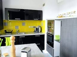 cuisine jaune et grise cuisine grise et jaune cuisine cuisine blanche grise et jaune