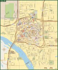 Oklahoma City Zip Code Map by Tulsa Downtown Map Digital Vector Creative Force
