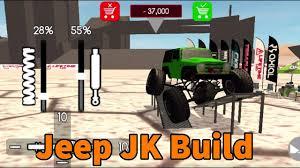 jeep cartoon offroad gigabit off road jeep jk full build hard to drive youtube