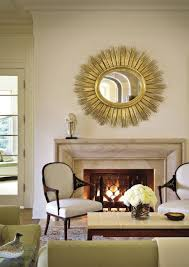 Round Mirrors How To Decorate With Round Mirrors Your Living Room