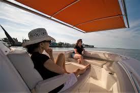 m3 automated mega boat shade sureshade