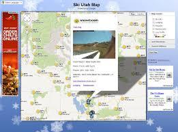 Ski Utah Map by More Than A Map