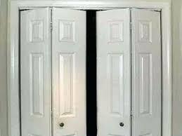 Lowes Folding Closet Doors Bifold Closet Door Photo Bifold Closet Door Hardware Lowes