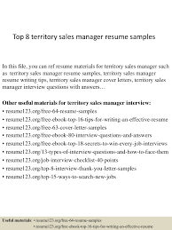 sales manager resume example top8territorysalesmanagerresumesamples 150408062743 conversion gate01 thumbnail 4 jpg cb 1428492506