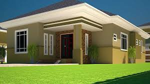 three bedroom bungalow design house of three bedrooms plan with