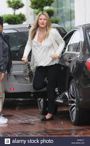 pregnant ali larter getting her nails done in west hollywood on a